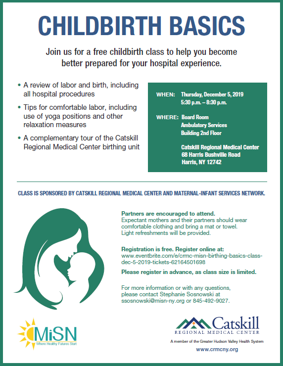 Childbirth Basics 12-5-19 Flyer