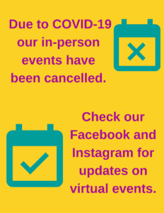Upcoming Events Cancelled Image